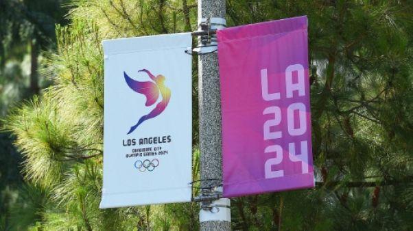 JO-2024: Los Angeles fête en petit comité la Journée mondiale de l'olympisme