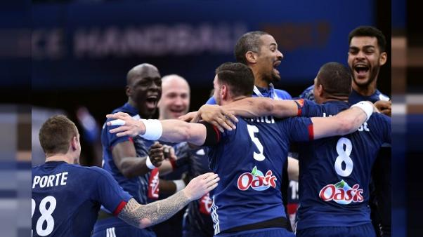 Hand: les Français avec le Belarus, la Norvège et l'Autriche à l'Euro-2018