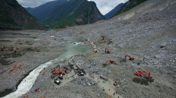 Eboulement en Chine: les espoirs de retrouver des disparus s'amenuisent