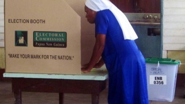 Elections législatives en Papouasie-Nouvelle-Guinée