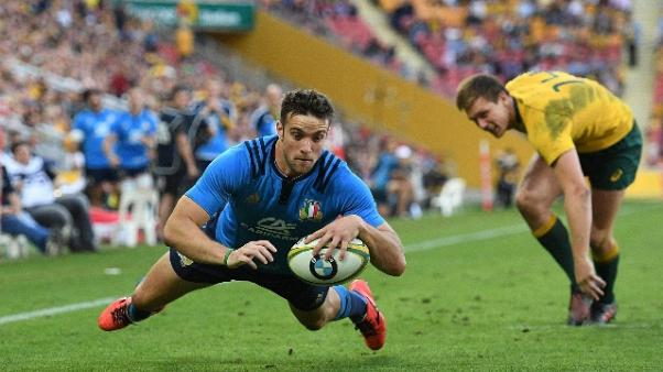 Rugby: Australia-Italia 40-27