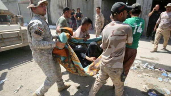 Irak: au moins trois morts dans un attentats suicide à Mossoul