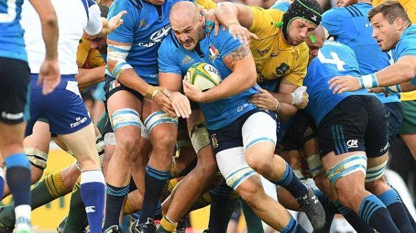 Rugby: O'Shea, orgoglioso della squadra