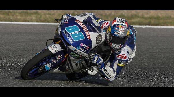 Moto: Olanda, Martin pole in Moto3