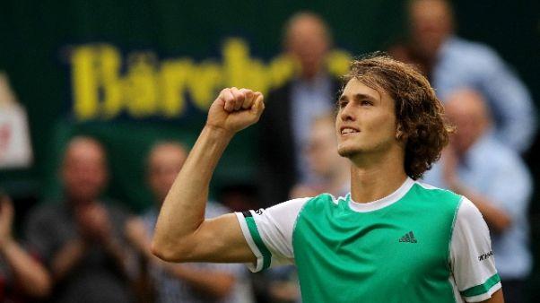 Tennis: Halle, finale è Federer-Zverev