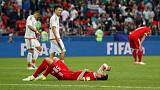 Mexico knock out Confed Cup hosts Russia with 2-1 win