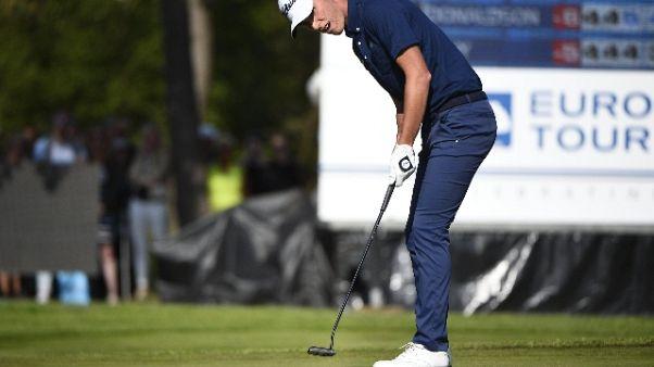 Golf: Eurotour Bmw Open,rimonta Paratore