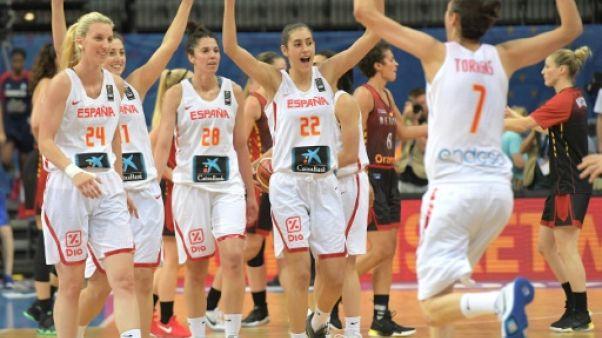 Basket: l'Espagne en finale de l'Euro dames