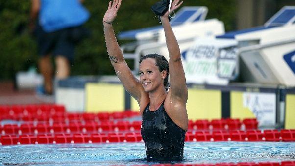 Nuoto:Settecolli, Pellegrini 6/a nei 100