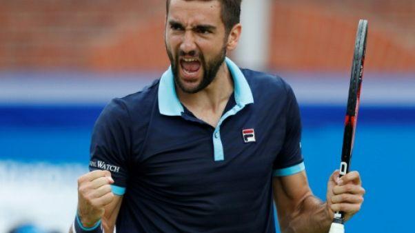 Tennis: Cilic en quête de doublé, Lopez de première, au Queen's
