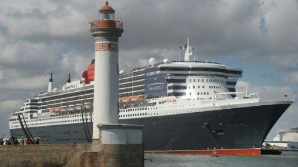 The Bridge: 4 maxi-trimarans et le Queen Mary 2 à l'assaut de l'Atlantique