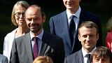 French President Macron, PM Philippe approval ratings rise - poll
