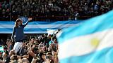 Argentina's former president Fernandez launches Senate bid