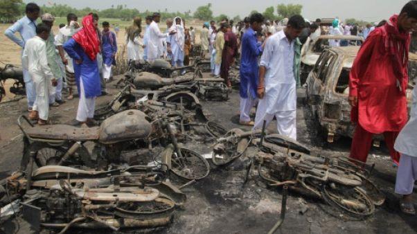 Pakistan: triste Aïd après un incendie qui fait 153 morts