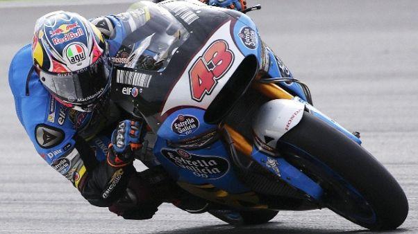 MotoGp: warm up bagnato, domina Miller