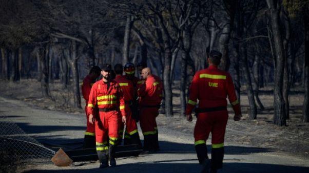 L'Espagne affronte son premier grand incendie de l'été