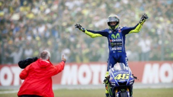 Moto: Rossi toujours là, vainqueur du GP des Pays-Bas, Zarco pas encore