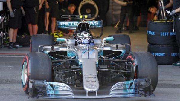 F1: Azerbaigian, Hamilton parte davanti