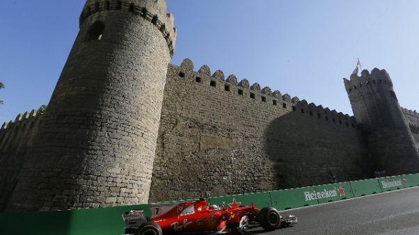 Contatto con Hamilton, penalità a Vettel
