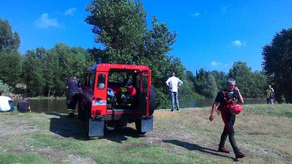 Ragazzo 13enne scomparso nel fiume Adda
