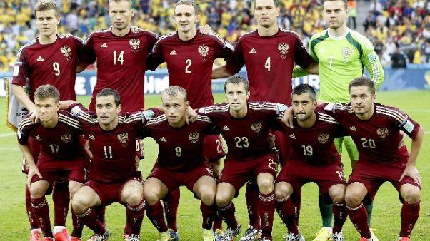 Fifa: inchiesta su doping calcio russo
