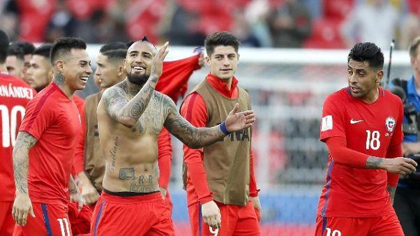 Confederations: Cile-Australia 1-1