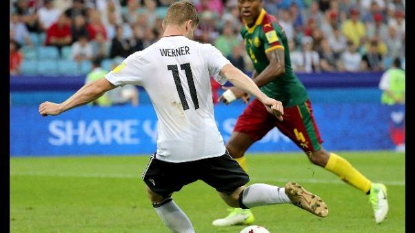 Confederations: Germania-Camerun 3-1