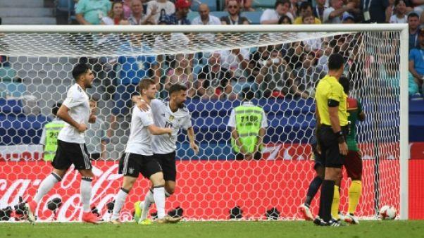Coupe des Confédérations: l'Allemagne en demi-finales, comme d'habitude