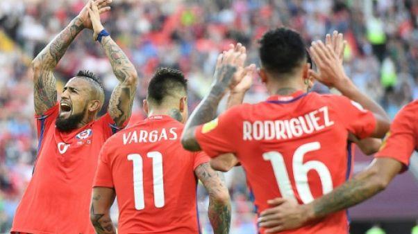 Coupe des Confédérations: le Chili valide son rendez-vous avec le Portugal