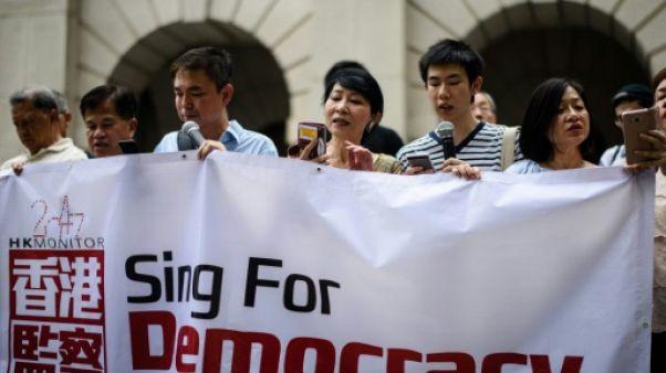 Hong Kong: manifestations prodémocratie avant la visite du président Xi