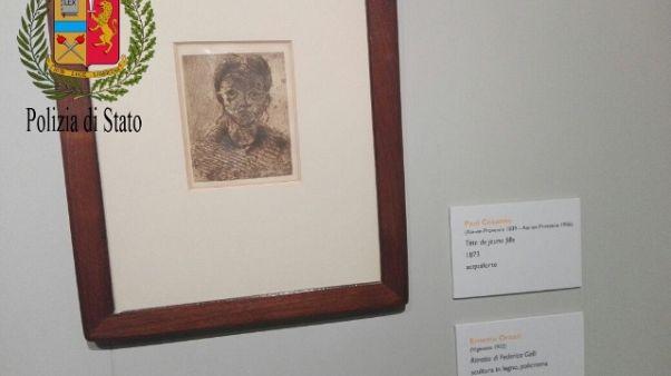 Cerca rubare un Cezanne, denunciato