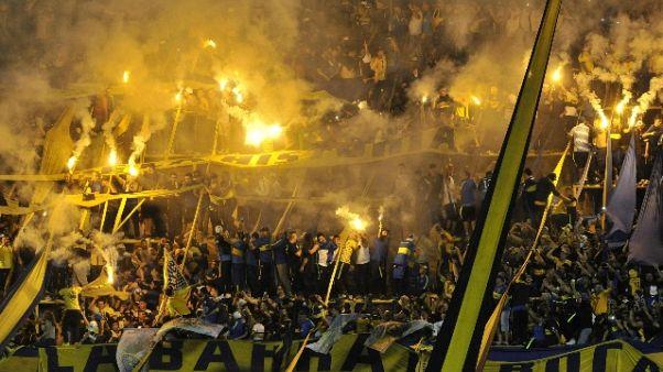 Festa a Baires per scudetto Boca Juniors