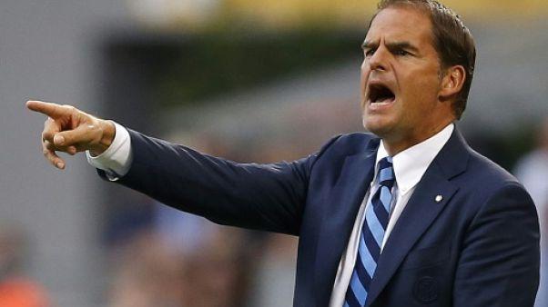 Transfert: Frank de Boer nouvel entraîneur de Crystal Palace