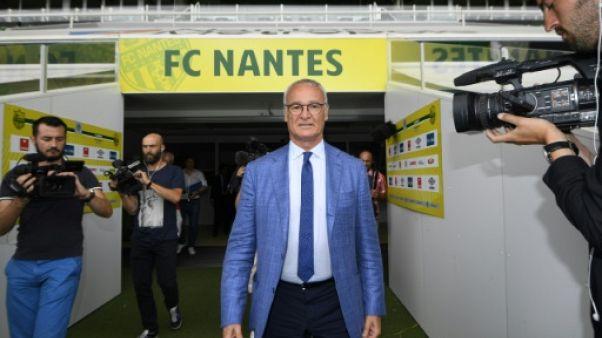 """Nantes: """"Il faut oublier ce que j'ai fait avec Leicester"""" prévient Ranieri"""