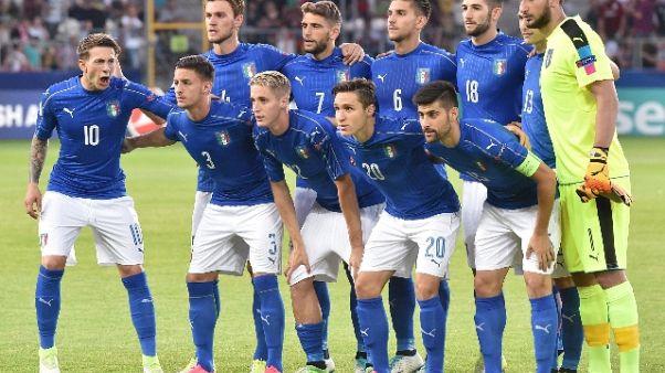 Europei U21, Italia sfavorita con Spagna