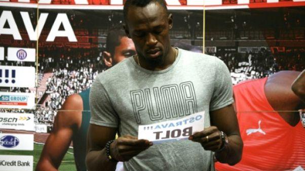 Athlétisme: à deux jours du meeting d'Ostrava, Bolt prépare sa sortie