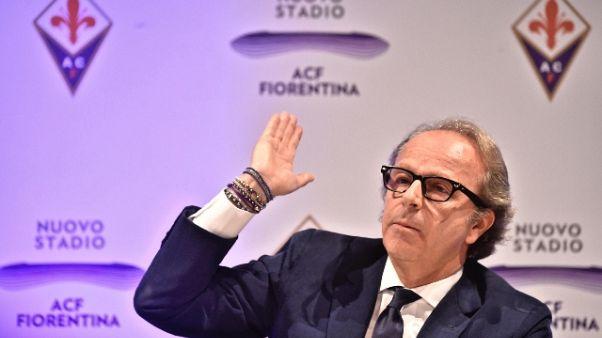 Ufficiale, la Fiorentina è in vendita