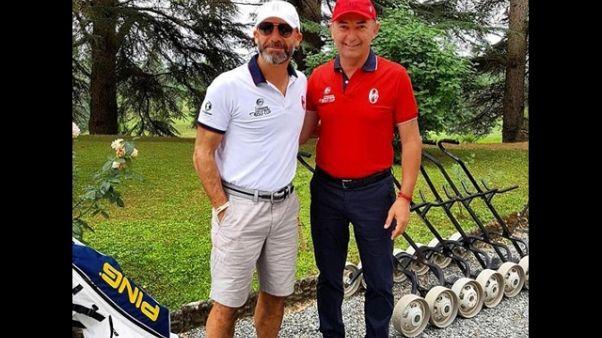 Golf,Vialli e Mauro Pro Am contro la Sla