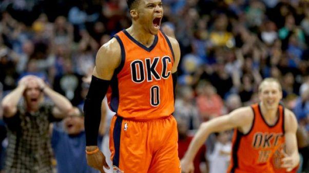 Trophées NBA: Westbrook au sommet, Gobert devancé