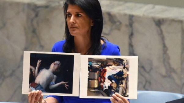 Syrie: Washington et Paris prêts à riposter en cas d'attaque chimique