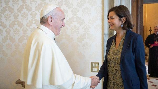 Boldrini da Papa, sue parole ispiratrici