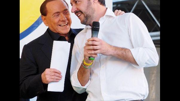 Salvini, se Cav tace guarda a Renzi