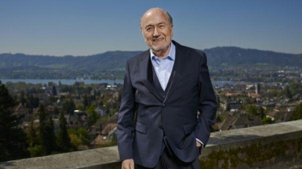 """Rapport Garcia: Blatter """"s'en tient"""" aux conclusions de la justice interne"""