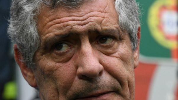 """Coupe des Confédérations: Santos veut """"représenter le Portugal mais aussi l'Europe"""""""