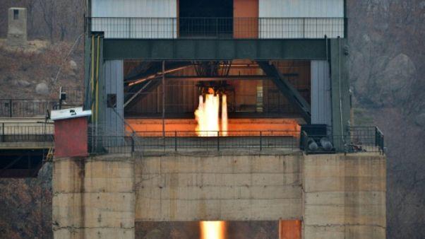 La Corée du Nord teste un moteur de fusée