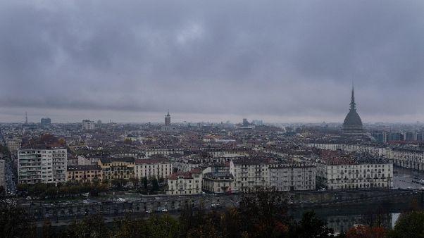 Temporali su Torino,allagamenti e disagi