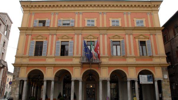 Blitz Gdf-Municipale in Comune Piacenza