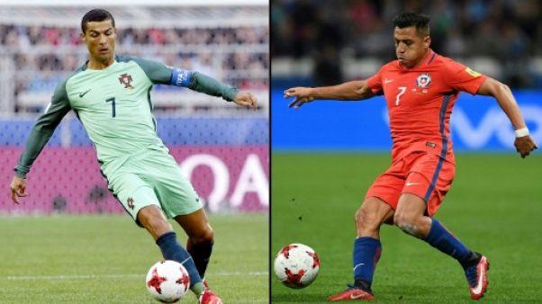 Coupe des Confédérations: Ronaldo-Sanchez pour une demi-finale étoilée