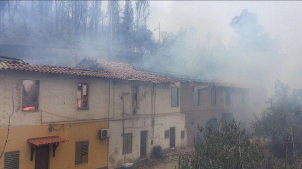 Rogo Iglesias, evacuati tornano a casa