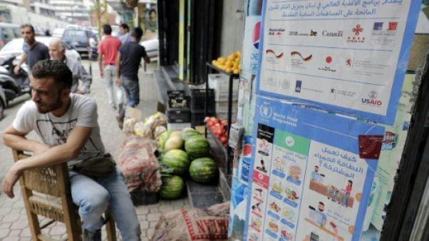 Au Liban, le boom des achats des réfugiés syriens dynamise les commerces